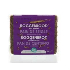 Terrasana Roggebrood lijnzaad (500 gram)