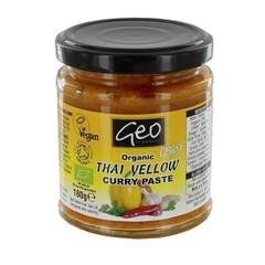 Geo Organics Curry paste thai yellow (180 gram)