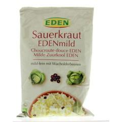Eden Zuurkool mild (zakje) (500 gram)