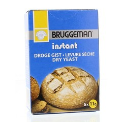 Bruggeman Instant gist (5 x 11 gram) (55 gram)