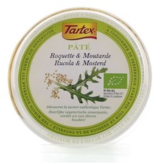 Tartex Pate creme rucola & mosterd (75 gram)