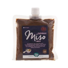 Terrasana Genmai miso eko met schroefdop (345 gram)