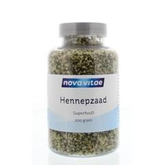 Nova Vitae Hennep zaad (200 gram)