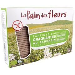 Pain Des Fleurs Boekweit crackers (300 gram)