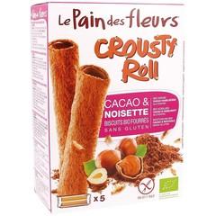 Pain Des Fleurs Krokante rol cacao & hazelnoten (125 gram)