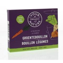 Your Organic Nat Groentebouillon zonder gist (66 gram)