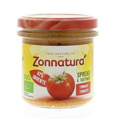 Zonnatura Groentespread tomaat (135 gram)