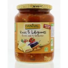 Danival Ravioli met groenten (670 gram)