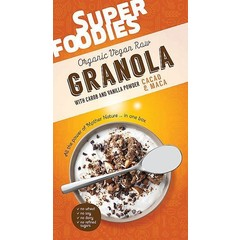 Superfoodies Raw granola cacao & maca (200 gram)