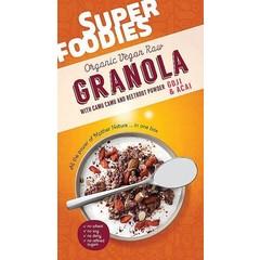 Superfoodies Raw granola goji & acai (200 gram)