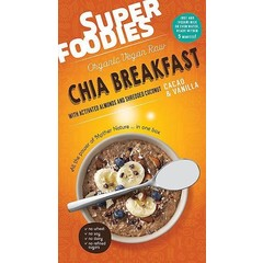 Superfoodies Chia breakfast mix cacao & vanilla (200 gram)