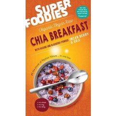Superfoodies Chia breakfast goji & inca berries (200 gram)