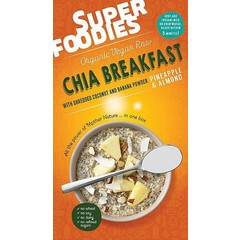 Superfoodies Chia breakfast pineapple & almond (200 gram)