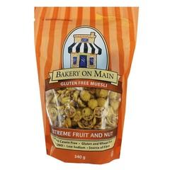 Bakery On Main Muesli extreme fruit & nut (340 gram)