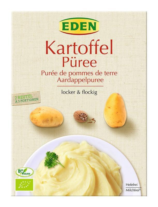 Eden Eden Aardappelpuree bio (160 gram)