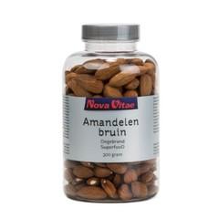 Nova Vitae Amandelen bruin ongebrand (300 gram)