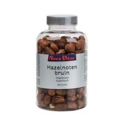 Nova Vitae Hazelnoten bruin ongebrand raw (250 gram)