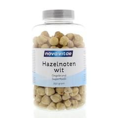 Nova Vitae Hazelnoten wit ongebrand raw (250 gram)