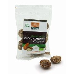 Mattisson Amandelen snack pure chocolade & cocos (35 gram)