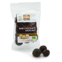 Mattisson Hazelnoten snack raw chocolate (35 gram)