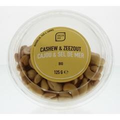 Greenage Cashewnoten met zeezout (125 gram)