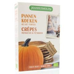 Joannusmolen Pannenkoeken mix met pompoen (300 gram)