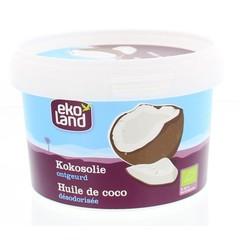Ekoland Kokosolie ontgeurd (550 ml)