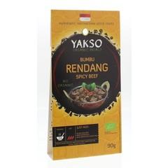 Yakso Bumbu rendang bio (90 gram)