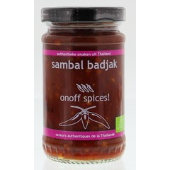 Onoff Sambal badjak (110 gram)