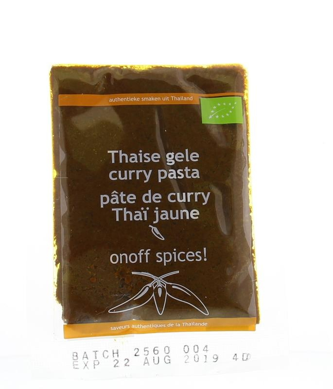 Onoff Onoff Thaise gele currypasta (50 gram)