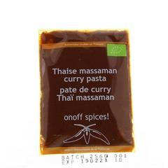 Onoff Thaise massaman currypasta (50 gram)