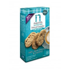 Nairns Breakfast biscuit pure chocolade & kokos (160 gram)