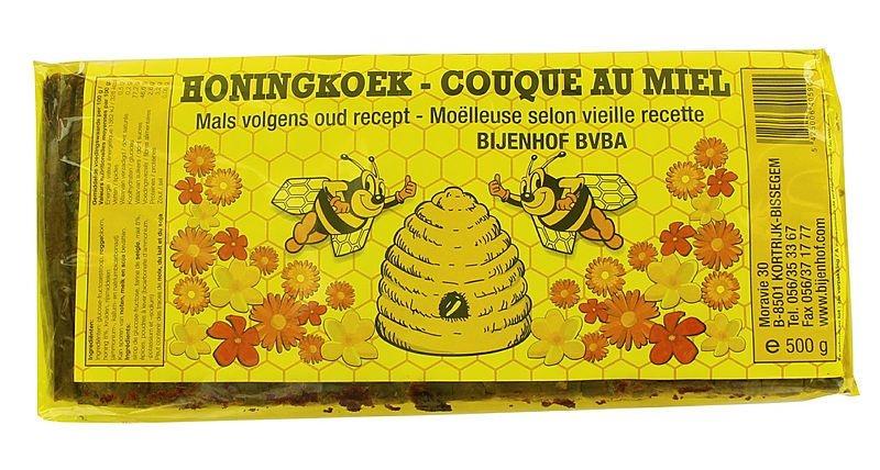 Bijenhof Bijenhof Honingkoek (500 gram)