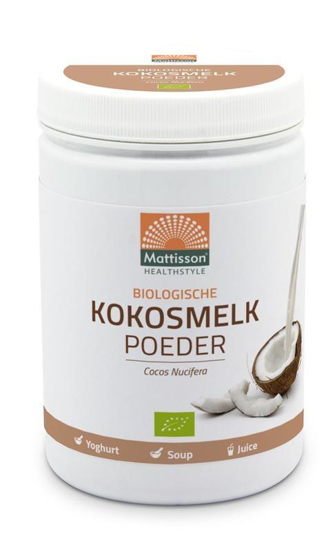 Mattisson Mattisson Vegan kokosmelk poeder bio (300 gram)