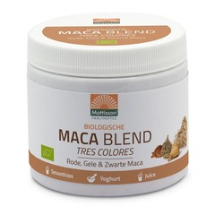 Mattisson Maca blend geel, rood & zwart biologisch (300 gram)