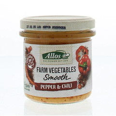 Allos Farm vegetables smooth paprika & chili (140 gram)