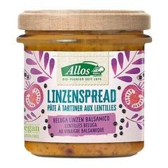 Allos Linzenspread beluga balsamico (140 gram)