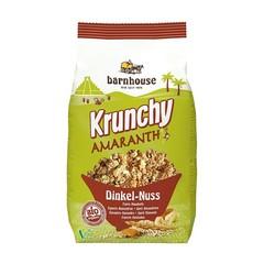 Barnhouse Krunchy amaranth spelt amandel (375 gram)