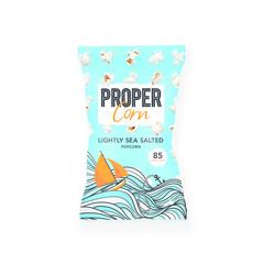 Propercorn Popcorn lightly sea salted (20 gram)
