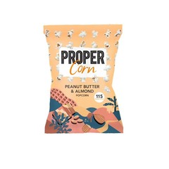 Propercorn Popcorn peanut butter & almond (90 gram)