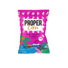 Propercorn Popcorn sweet coconut & vanilla (90 gram)