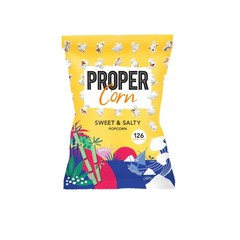 Propercorn Popcorn sweet & salty (90 gram)
