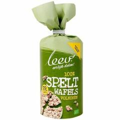 Leev Bio speltwafels volkoren (100 gram)