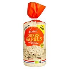 Leev Bio wafels volkoren-quinoa (100 gram)