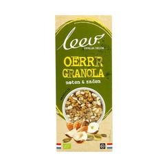 Leev Bio granola noten en zaden (350 gram)