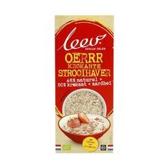 Leev Bio krokante strooihaver aardbei (400 gram)