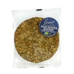 Leev Bio qrackers kaas paprika (46 gram)