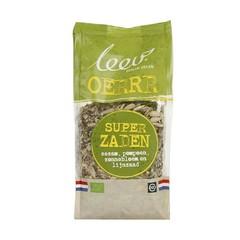 Leev Bio super zaden sesam pompoen zonneb gebr lijnzaad (350 gram)