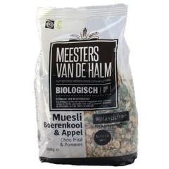 De Halm Muesli boerenkool & appel (350 gram)