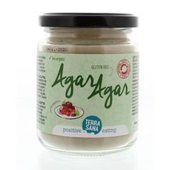 Terrasana Agar agar poeder glas (120 gram)